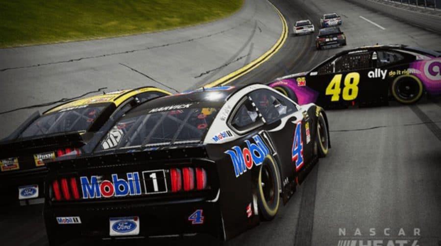NASCAR Heat 4: vídeo mostra primeiro gameplay das corridas