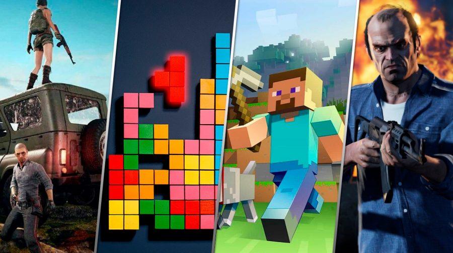 Os 20 jogos de videogame mais vendidos de todos os tempos