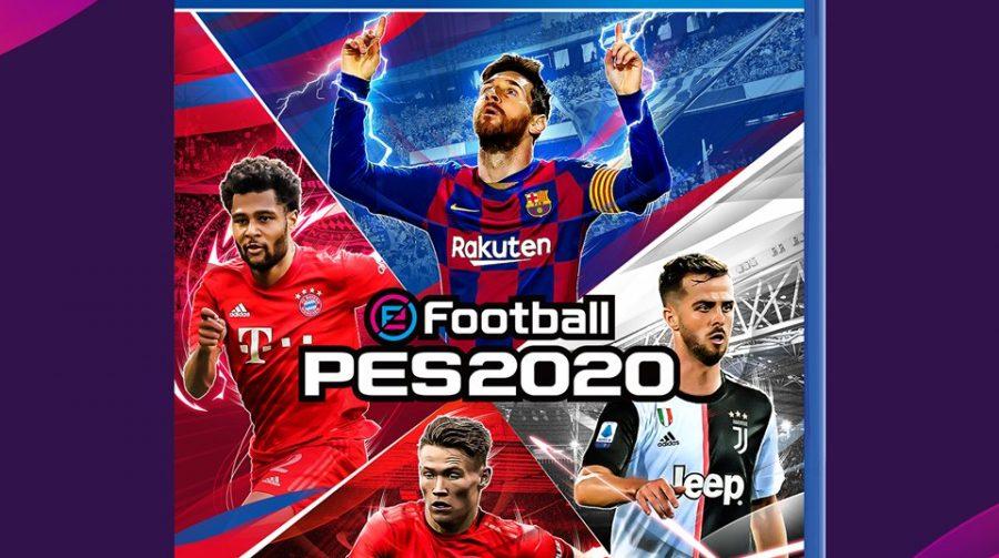 PES 2020 ganha capa com Messi, Gnabry, Pjanic e McTominay
