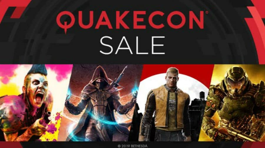 Promoção Quakecon oferece descontos em jogos da Bethesda