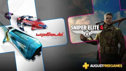 [Oficial] PS Plus de agosto terá Sniper Elite 4 e WipEout Omega Collection