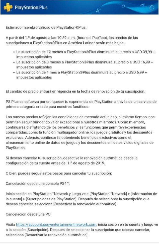 Sony baixa preço da PS Plus em vários países latinos, menos no Brasil 1