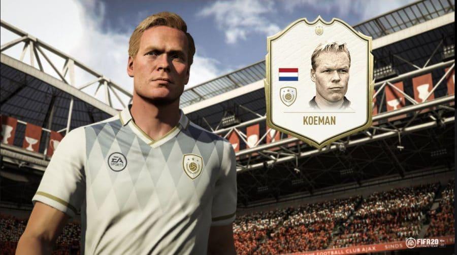 FIFA 20 ganha dois novos Icons: Ian Wright e Ronald Koeman