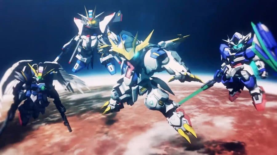 SD Gundam G Generation Cross Rays ganha trailer