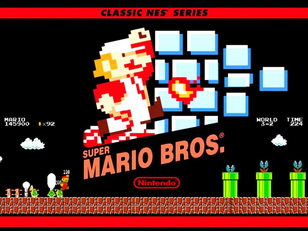 Jogos mais vendidos Mario