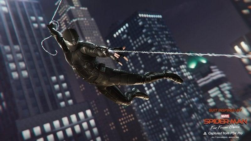 Marvel's Spider-Man receberá trajes de Homem-Aranha: Longe de Casa 2
