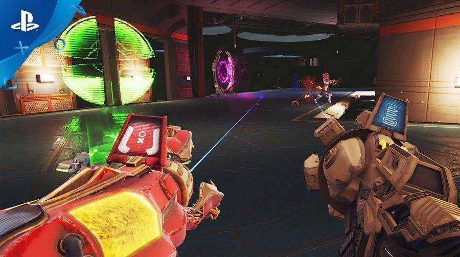 Telefrag VR é anunciado para julho estrelando gladiadores espaciais