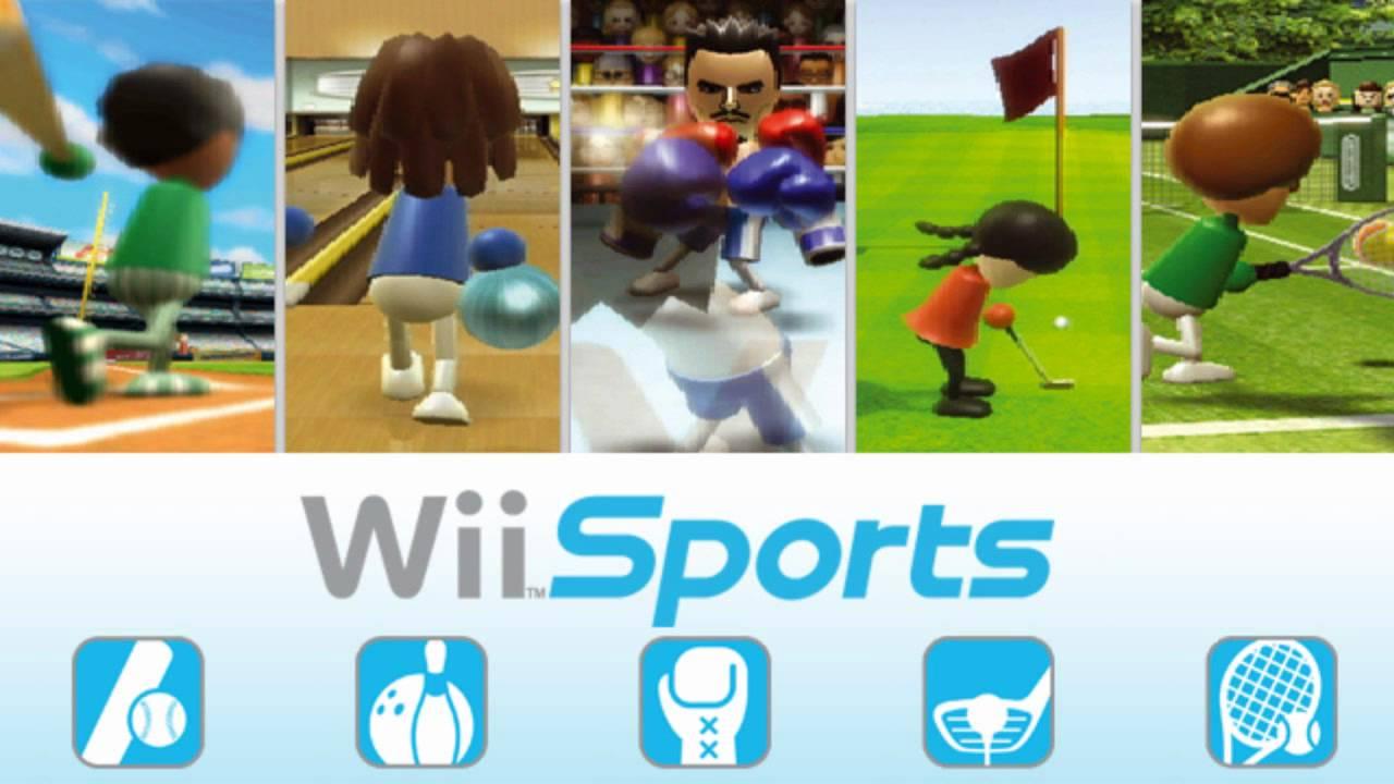 Jogos mais vendidos Wii Sport