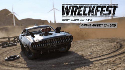 Wreckfest chega em 27 de agosto ao PlayStation 4