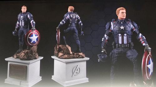 Edição de Colecionador de Marvel's Avengers terá estatueta do Capitão América