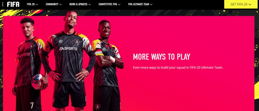 Ultimate Team de FIFA 20