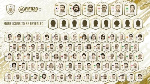 Com Capita, EA confirma 15 novos Icons em FIFA 20