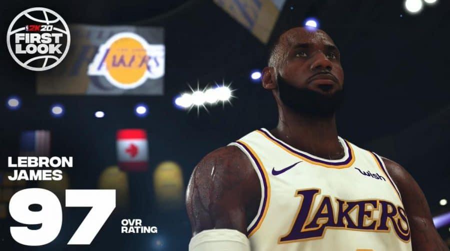 Ratings de NBA 2K20: LeBron e Kawhi são os melhores