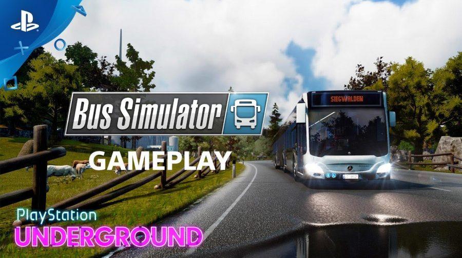 Bus Simulator chega ao PS4 em 17 de setembro