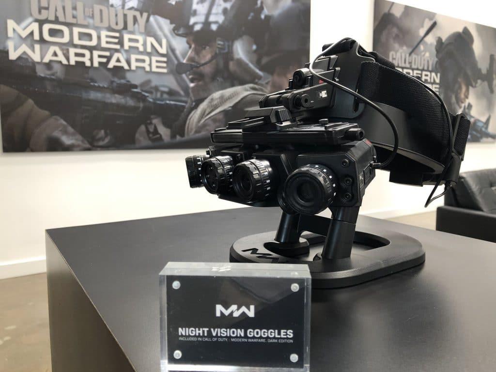 Modern Warfare virá com óculos de visão noturna
