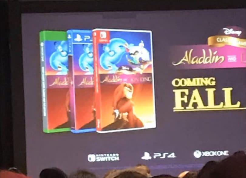 Aladdin Rei Leão