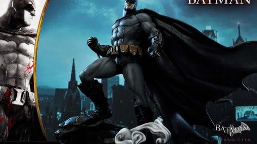 Batman Arkham Asylum comemora 10 anos com estatueta lindíssima