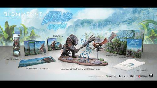 Biomutant ganhará edições exclusivas com miniaturas