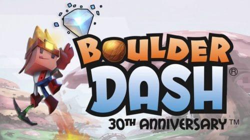 Boulder Dash 30th Anniversary é confirmado para o PS4