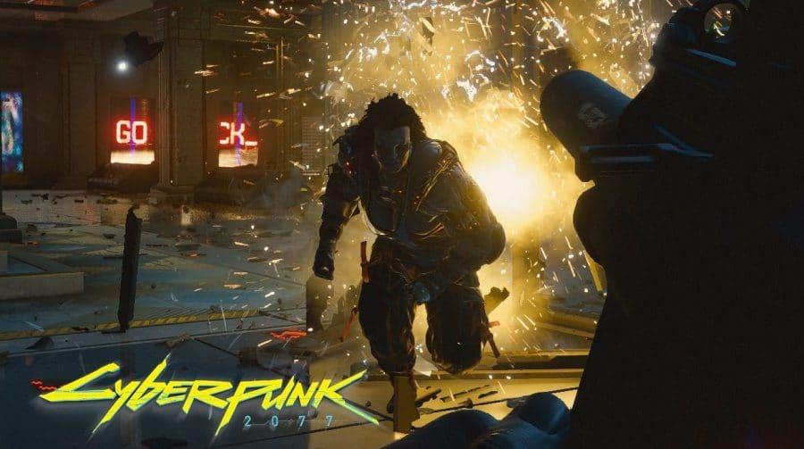 Cyberpunk 2077 será jogável no PS5 no lançamento e receberá
