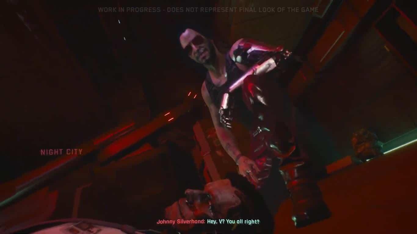 """Keanu Reeves não está tão """"breathtaking"""" assim em Cyberpunk 2077"""