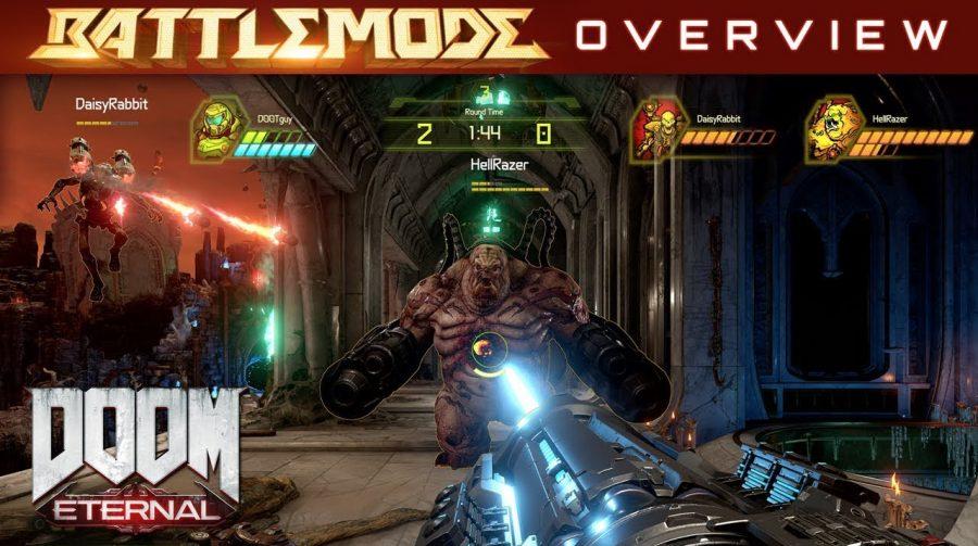 Gameplay de DOOM Eternal mostra mais do BATTLEMODE