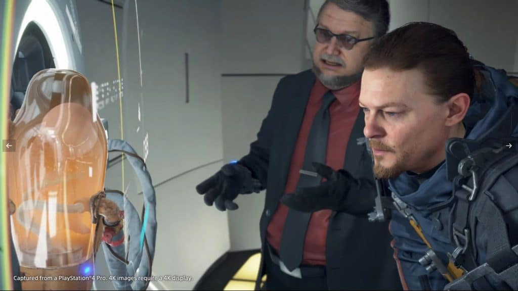 Sam e Deadman conversam (Imagem: Sony)