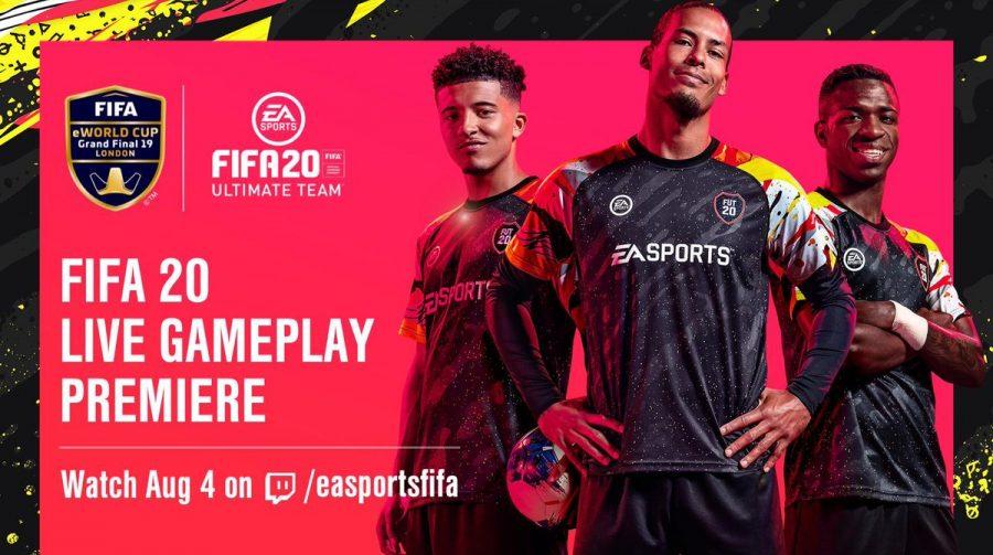 Gameplay de FIFA 20 será revelado no domingo