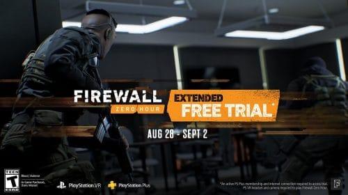 Firewall Zero Hour ficará grátis até a próxima semana no VR