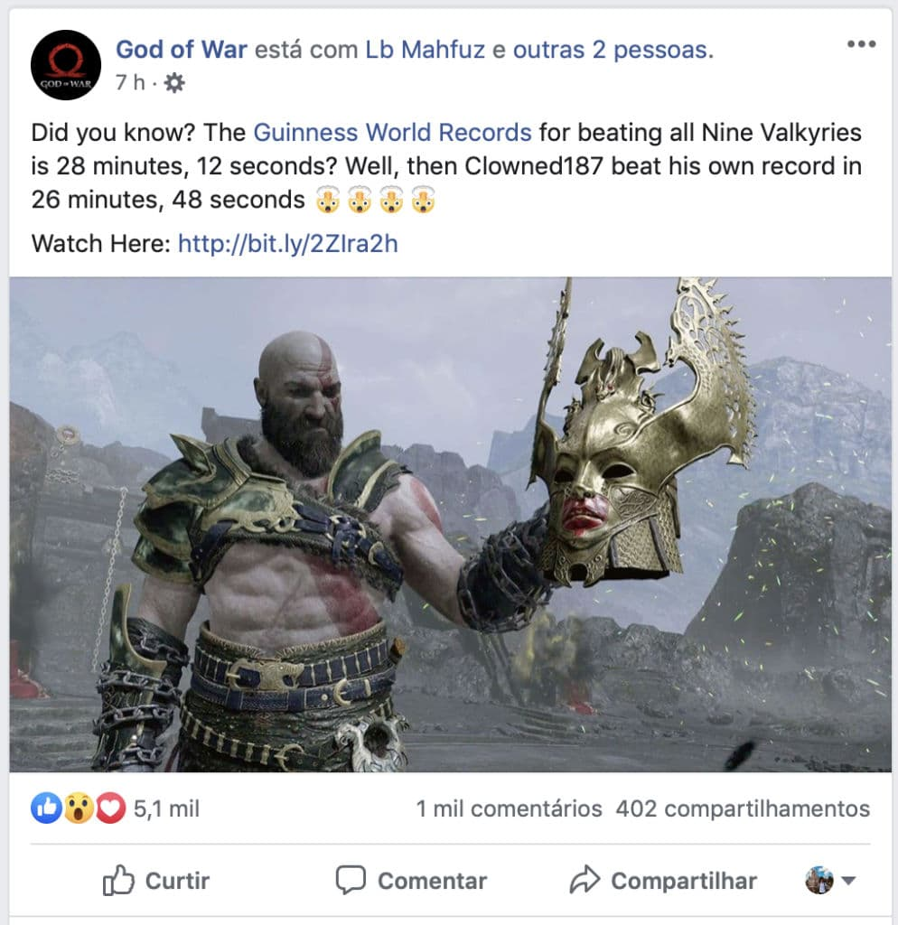 God of War Valquírias