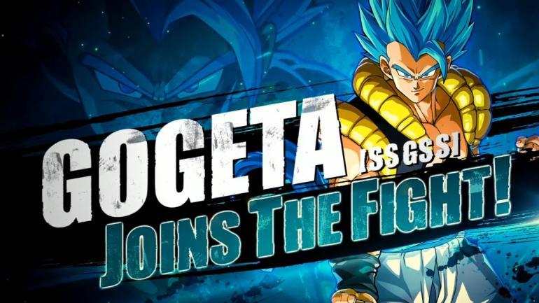Gogeta se junta ao elenco oficial de Dragon Ball FighterZ
