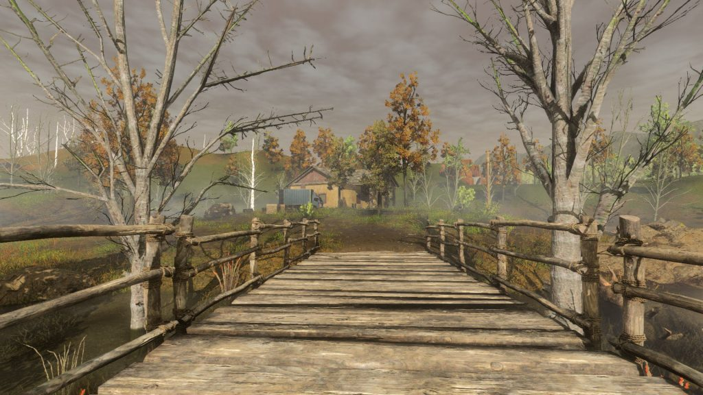 Área de Deadman's Swamps em H1Z1
