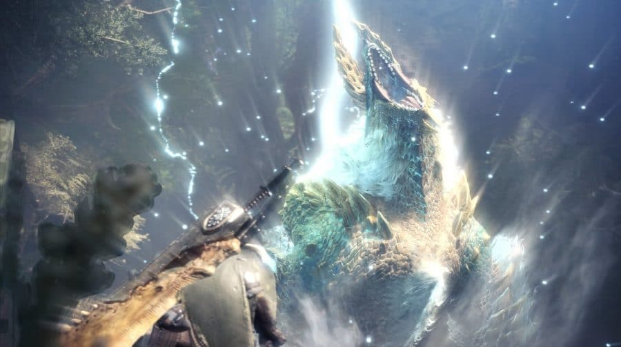 Zinogre está de volta em Monster Hunter World: Iceborne