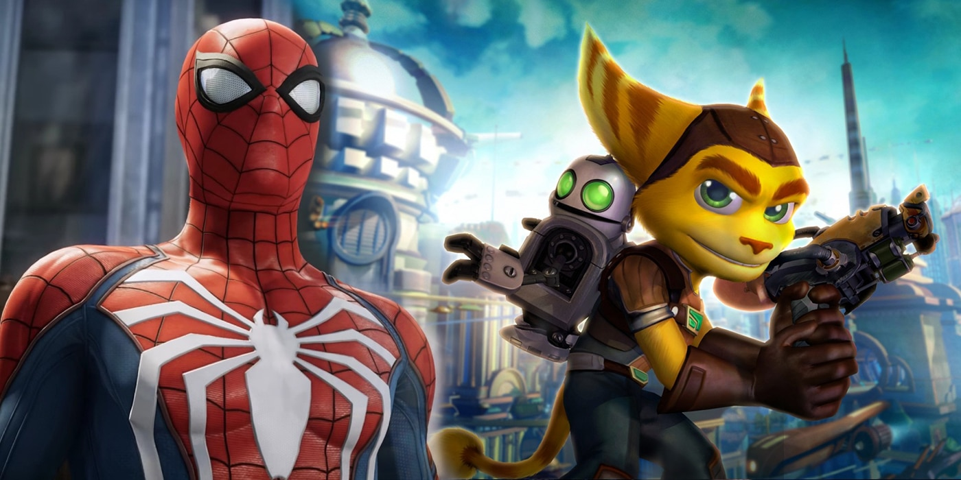 Insomniac Games - Marvel's Spider-Man e Ratchet & Clank