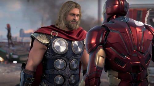 Square Enix alterou o visual dos heróis em Marvel's Avengers