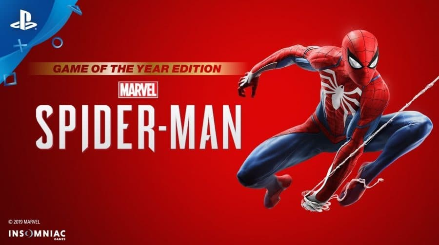 Marvel's Spider-Man: GOTY Edition é anunciado oficialmente