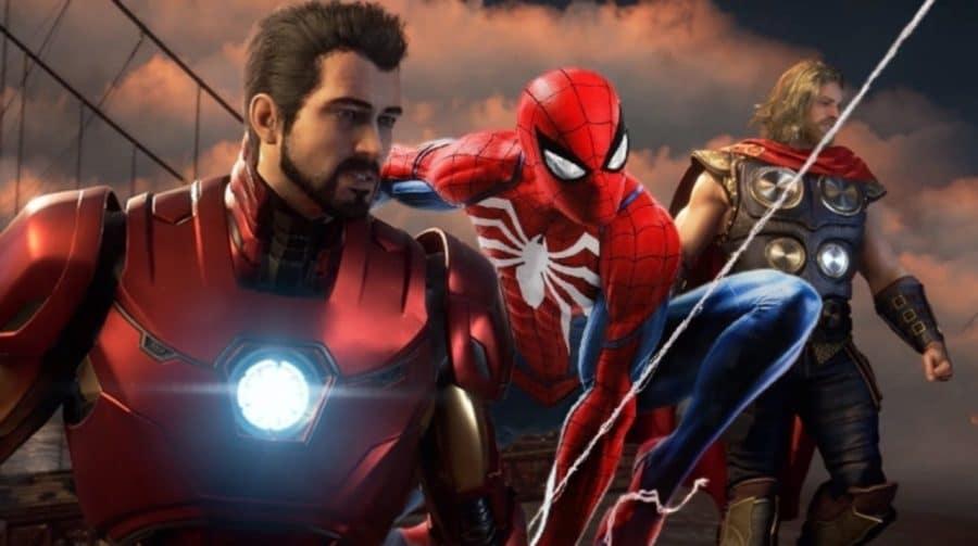 Marvel's Spider-Man e Avengers não são do
