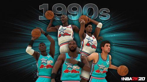 NBA 2K20 terá equipes com os melhores de cada década