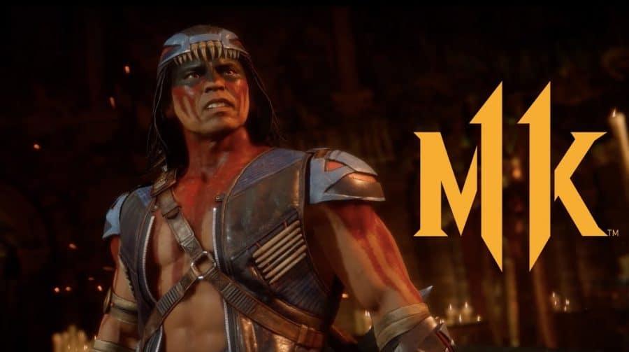 Nightwolf em Mortal Kombat 11 ganha vídeo com fatality