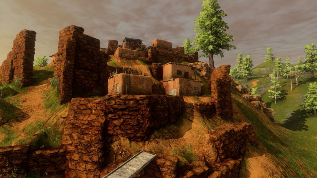 Pueblos é um pequeno vilarejo em Outland