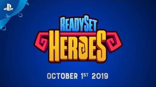 ReadySet Heroes: trailer revela lançamento em 1 de outubro