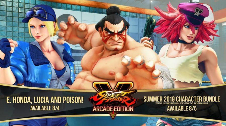 Street Fighter V: Arcade Edition ganhará 3 novos lutadores