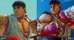 Street Fighter V e Street Fighter IV
