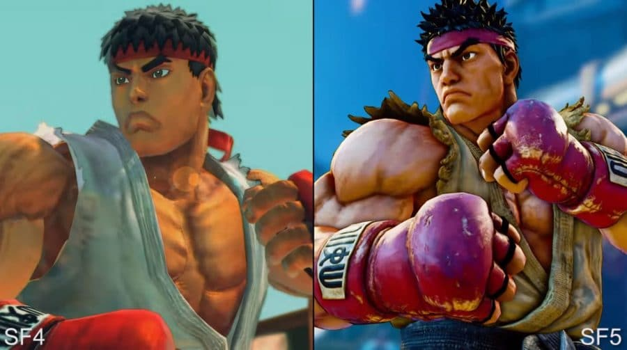 Vendas de Street Fighter V ultrapassam Street Fighter IV