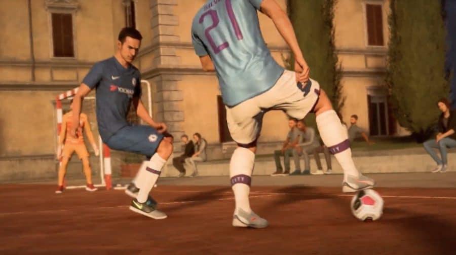 Ousadia e alegria em novo gameplay no modo VOLTA de FIFA 20