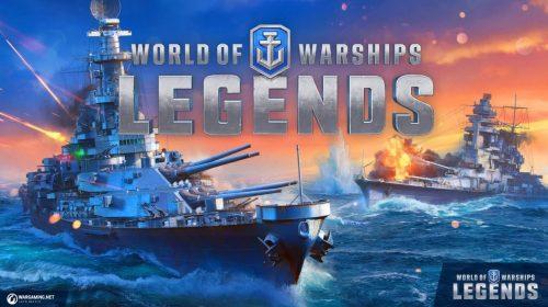 World of Warships: Legends estreia hoje (12) em sua versão completa