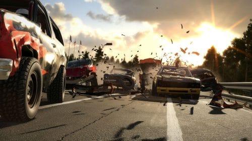 Wreckfest chega hoje (27) ao PlayStation 4 com muita destruição