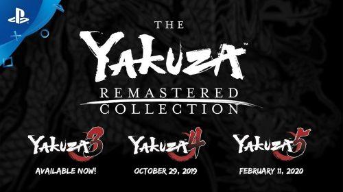 Sega traz The Yakuza Remastered Collection para o ocidente