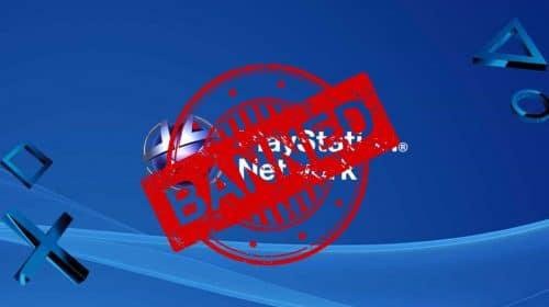 10 principais motivos para Sony banir sua conta na PSN