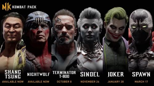 Coringa e Exterminador do Futuro estarão em Mortal Kombat 11